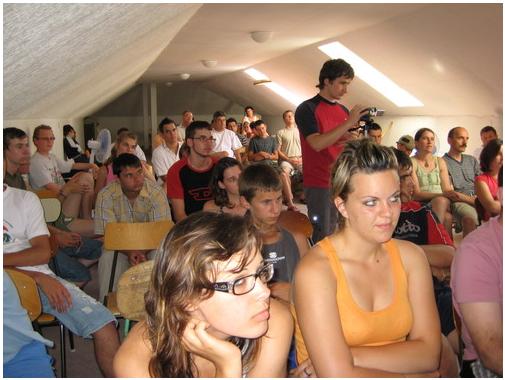 2008-as ifjúsági tábor